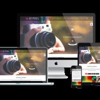 agethemes Joomla Template: AT Pixel – Photography Joomla Template