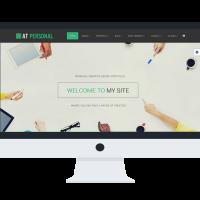 agethemes Joomla Template: AT Personal Onepage – Profile / Personal Joomla Template
