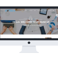 agethemes Joomla Template: AT Raise Up Onepage – Free Corporation /Joomla template