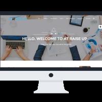 agethemes Joomla Template: AT Raise Up Onepage – Free Corporation /Joomla template