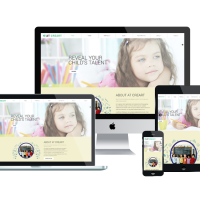 agethemes Joomla Template: AT CREART – FREE ART SCHOOL / GRAPHIC DESIGN JOOMLA TEMPLATE