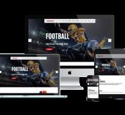 agethemes Joomla Template: AT Rugby – Free Responsive American Football Joomla template