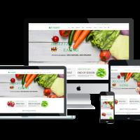 agethemes Joomla Template: AT VEGERET – FREE FRUITS / VEGETABLES STORE JOOMLA TEMPLATE.