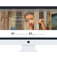 Joomla Free Template - AT DORITY ONEPAGE – FREE NON-PROFIT / DONATION ONEPAGE JOOMLA TEMPLATE