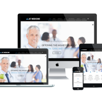 agethemes Joomla Template: AT Medicine – Hospital, Clinic Joomla Template