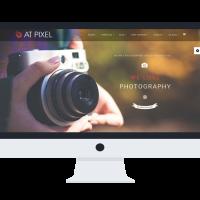 agethemes Joomla Template: AT Pixel Onepage – Photography Joomla Template
