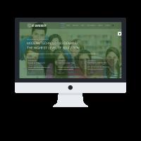 agethemes Joomla Template: AT University Onepage – College /Joomla template