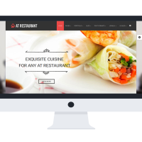 agethemes Joomla Template: AT Restaurant Onepage – Food Order /Joomla Template