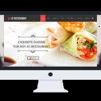 agethemes Joomla Template: AT Restaurant Onepage – Food Order /Joomla Template