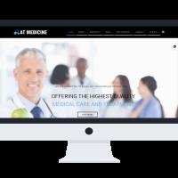 agethemes Joomla Template: AT Medicine Onepage – Hospital /Joomla template