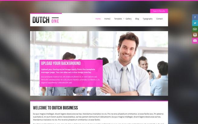 Joomla Template: Dutch One