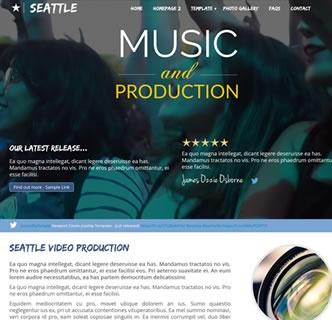 Joomla Template: Seattle Production