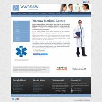 Joomzilla Joomla Template: Warsaw Medical