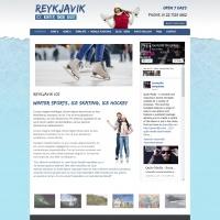 Joomzilla Joomla Template: Reykjavik Ice