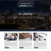 Joomla Premium Template - Manhattan Boardroom