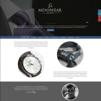 Joomzilla Joomla Template: Menswear Antwerp