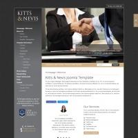Joomzilla Joomla Template: Kitts & Nevis