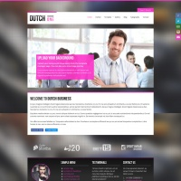 Joomzilla Joomla Template: Dutch One