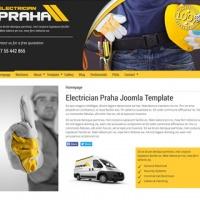 Joomzilla Joomla Template: Praha Electrician