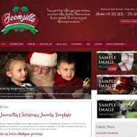 Joomzilla Joomla Template: JoomZilla Christmas