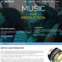 Joomzilla Joomla Template: Seattle Production