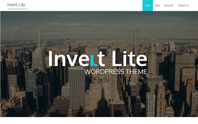 Wordpress Theme: Invert Theme