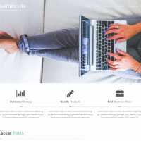Wordpress Free Theme - SwiftBiz Theme