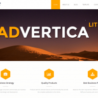 Sketch Themes Wordpress Theme: Advertica Theme