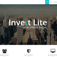 Sketch Themes Wordpress Theme: Invert Theme
