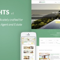 Wordpress Premium Theme - CitiLights - Real Estate WordPress Theme