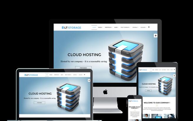 Joomla Template: LT Storage – Free Server / Hosting Joomla template