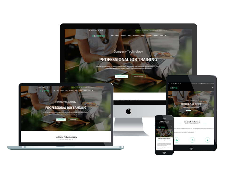 Joomla Template: LT Office - Premium Private Joomla Company theme