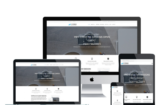Wordpress Theme: LT Stable Onepage – Free Single Page Responsive Business / Creative Stable WordPress theme