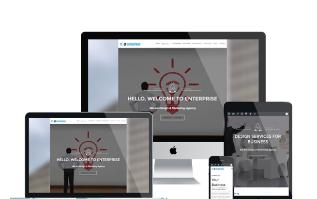 Wordpress Theme: LT Enterprise – Free Responsive Image Design / Creative WordPress Theme