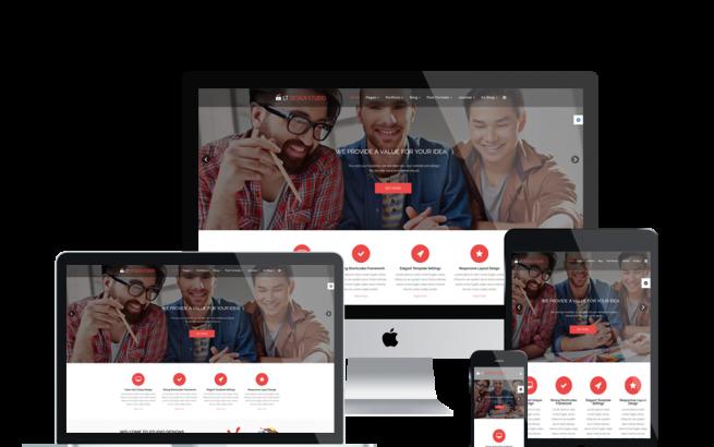 Joomla Template: LT Design Studio – Design Studio Joomla template