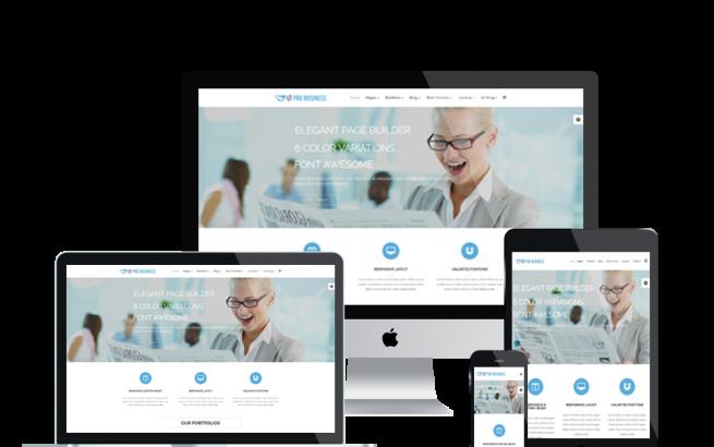 Joomla Template: LT Pro Business – Corporation / Pro Business Joomla template
