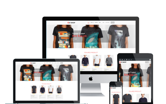 Wordpress Theme: LT Shop – Free Responsive Online Store / Clothes Shop WordPress Theme