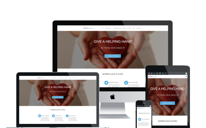 Wordpress Theme: LT Charity Onepage – Free Single Page Responsive Non-Profit / Charity WordPress theme