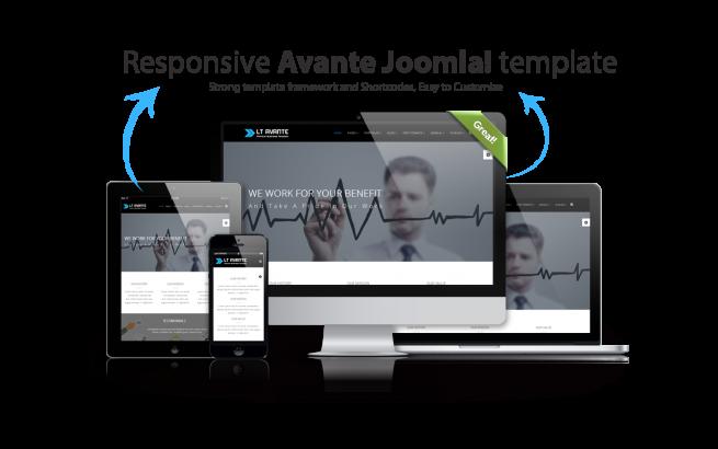 Joomla Template: LT Avante – Corporation / Business Joomla template
