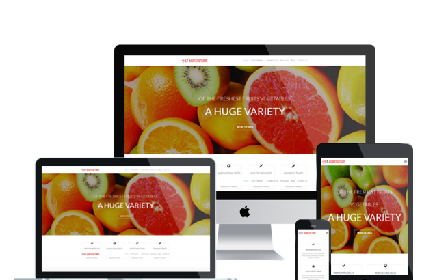 Wordpress Theme: LT Agriculture Onepage – Free Single Page Responsive Farmer / Fruits WordPress theme