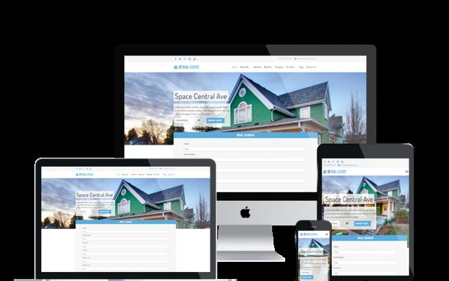 Wordpress Theme: LT Real Estate – Responsive Homes for Sales / Real Estate WordPress theme