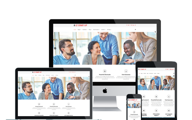 Joomla Template: LT Start Up – Responsive Business Start Up Joomla template