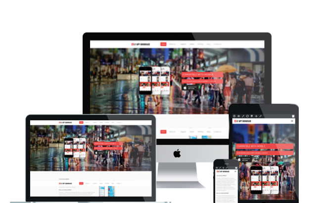 Wordpress Theme: LT App Showcase – Free Responsive Application Showcase WordPress Theme