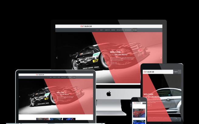 Wordpress Theme: LT Salon Car – Free Responsive Salon Car WordPress Theme