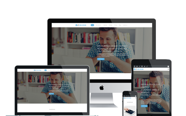 Wordpress Theme: LT Web Design Onepage – Free Single Page Responsive Web Development / Web Design WordPress theme