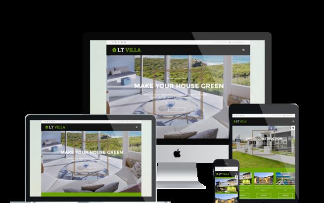 Joomla Template: LT Villa – Free Modern Villa Joomla! template