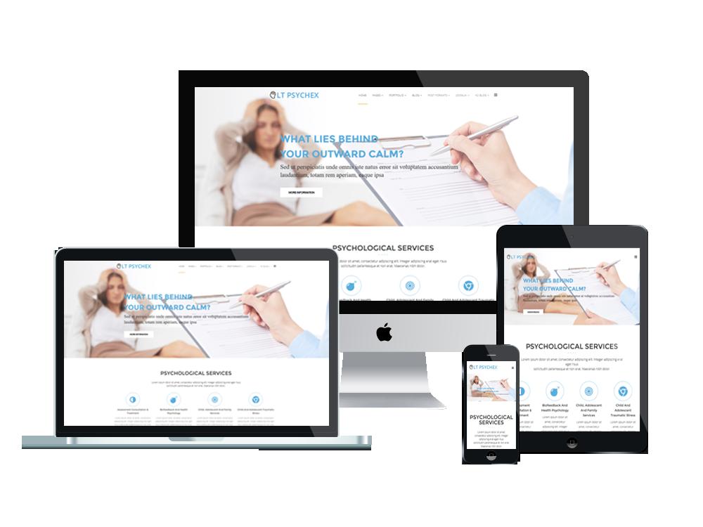 Wordpress Theme: LT Psychex – Psychology WordPress Theme