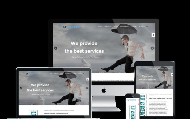 Joomla Template: LT Creato Onepage – Free Single Page Image Design / Creative Joomla template