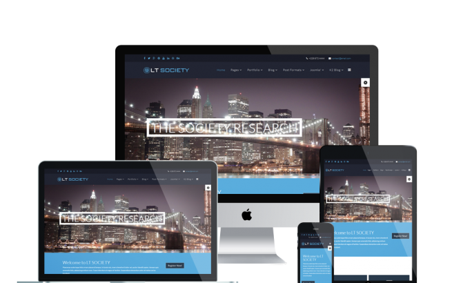 Wordpress Theme: LT Society – Free Responsive Corporation / Society WordPress Theme