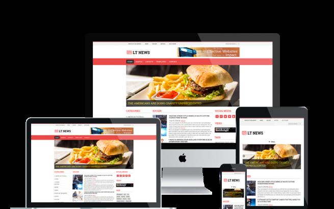 Wordpress Theme: LT News – Responsive Magazines / News WordPress theme